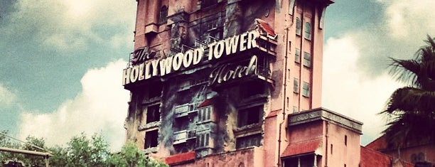 The Twilight Zone Tower of Terror is one of Orlando's must visit!.