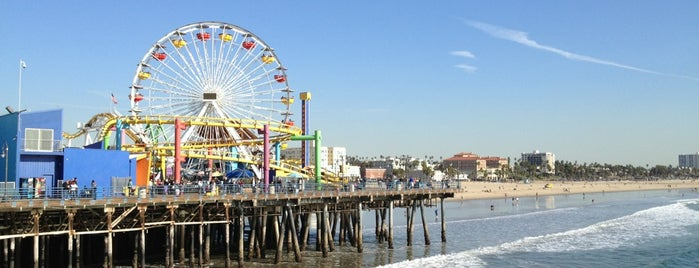 Santa Monica State Beach is one of The 50 Most Popular Beaches in the U.S..