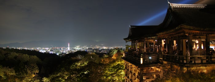 Kiyomizu-dera Temple is one of Kyoto temples and shrines.