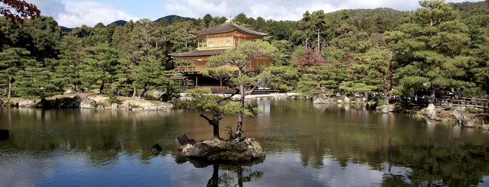 Kinkaku-ji Temple is one of Kyoto temples and shrines.