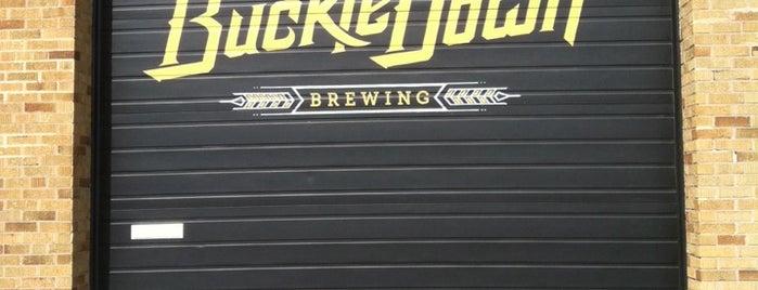 BuckleDown Brewing is one of Brewery Bucket List.