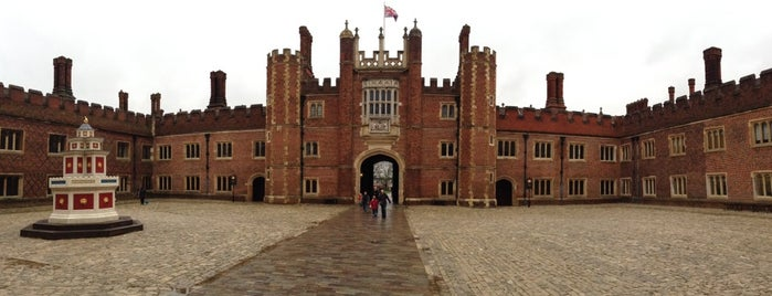Hampton Court Palace is one of Places to Visit in London.