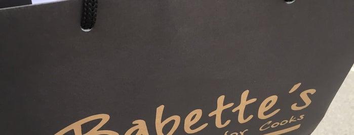 Babette's am Hof is one of der tisch.