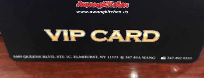 Awang Kitchen is one of NYC on my way.