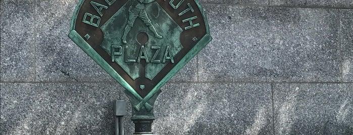 Babe Ruth Plaza is one of Baseball Venue NY.