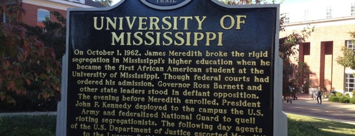 University of Mississippi is one of NCAA Division I FBS Football Schools.