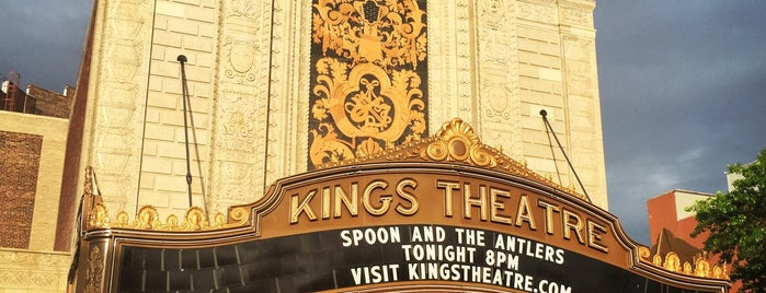 Kings Theatre is one of USA NYC BK Crown Heights.