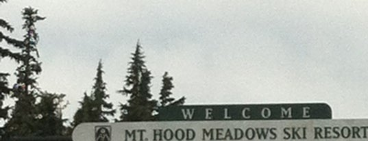 Mt. Hood Meadows Ski Resort is one of My Saved Places.