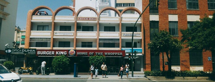 Burger King is one of Alex.