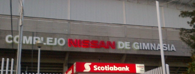 Complejo Nissan de Gimnasia is one of CODE Jalisco.