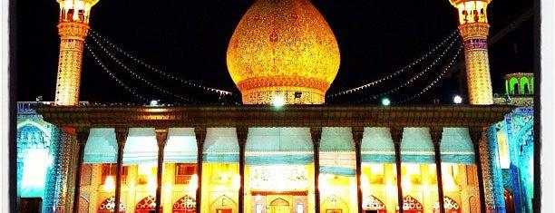 Shah Cheragh Shrine is one of Shiraz Attractions | جاذبههای شیراز.