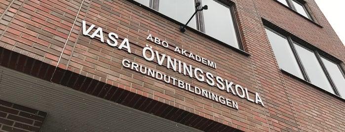 Vasa övningsskola F-9 is one of My places.