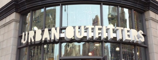 Urban Outfitters is one of 2012 - New York.
