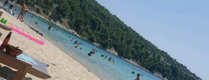 Agios Ioannis Beach is one of 🌞🌊Chalkidiki-->to The Beach 🐋🐬🐟🐠🐡🦀.