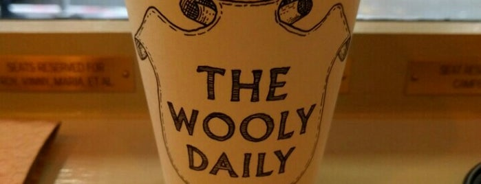 The Wooly Daily is one of The 15 Best Coffee Shops in New York City.