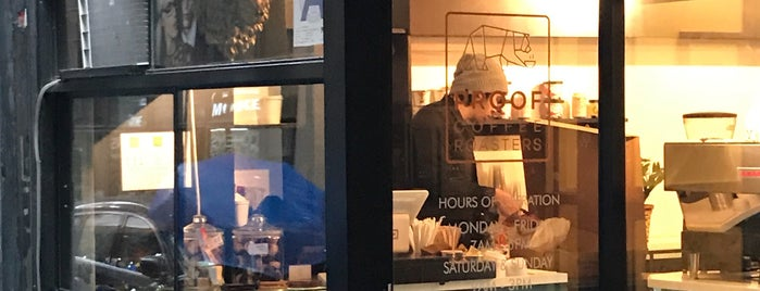 Proof Coffee Roaster is one of New York's Best Coffee Shops - Manhattan.
