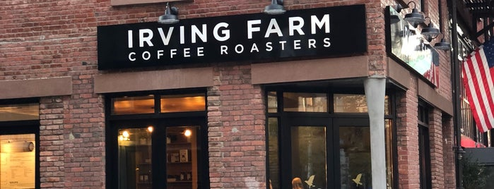 Irving Farm Coffee Roasters is one of New York Todo.