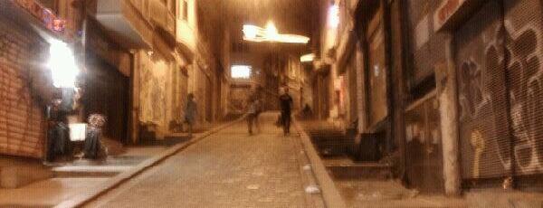 Yüksek Kaldırım is one of Istanbul by Kenan and Javairia.