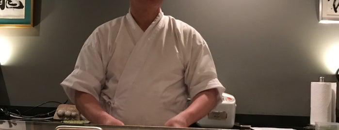Ushiwakamaru is one of Michelin NYC 2017.