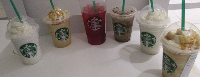 Starbucks is one of my fave.