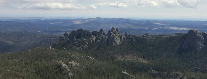 Harney Peak Tower is one of Rapid City, SD.