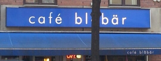 Café Blåbär is one of All-time favorites in Sweden.