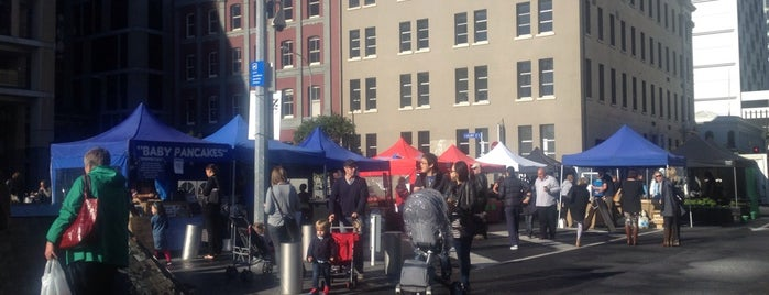 Britomart Farmers Market is one of NZ to go.