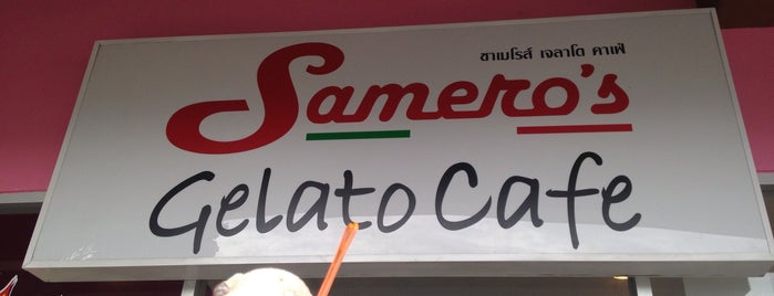 Samero's Gelato Cafe is one of Phuket.