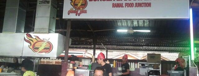 Burger Bakar Abang Burn is one of Short-list.