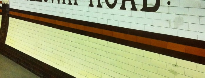 Holloway Road London Underground Station is one of Tube Challenge.
