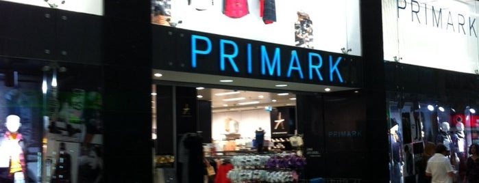 Primark is one of Tiendas.