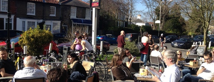 The Crown & Greyhound is one of London's Best Beer Gardens.