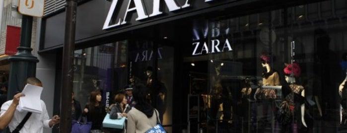 Zara is one of Washington DC.