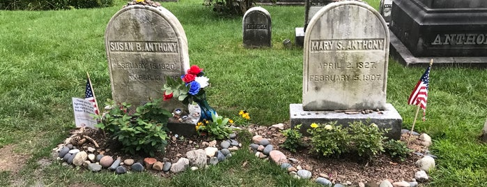 Susan B Anthony Grave is one of RIT Bucket List.