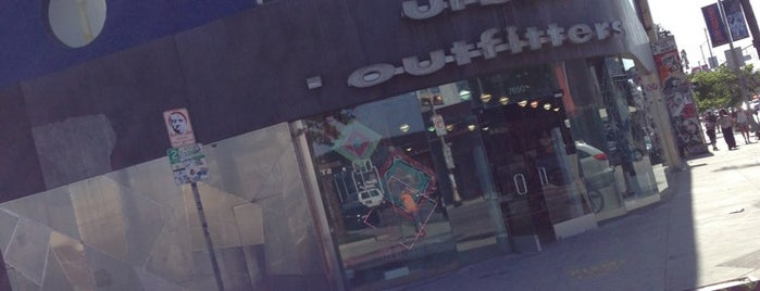 Urban Outfitters is one of Melrose/West Hollywood.