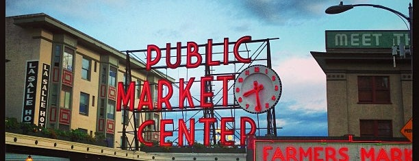 Pike Place Market is one of Alyssa's Seattle visit.