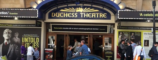 Duchess Theatre is one of London.