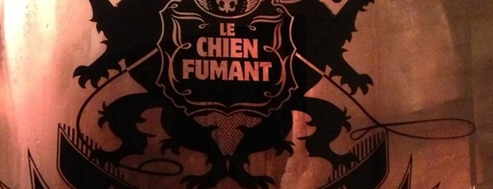 Le Chien Fumant is one of Montréal.