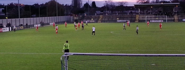 The KNK Stadium (Tooting & Mitcham United FC) is one of Football grounds in and around London.