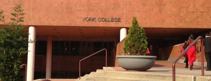 York College CUNY is one of NYC Hurricane Evacuation Centers.