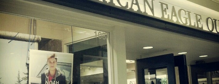 American Eagle Outfitters is one of Shopping.