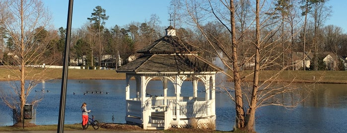 The Grove Pond is one of RVA parks.