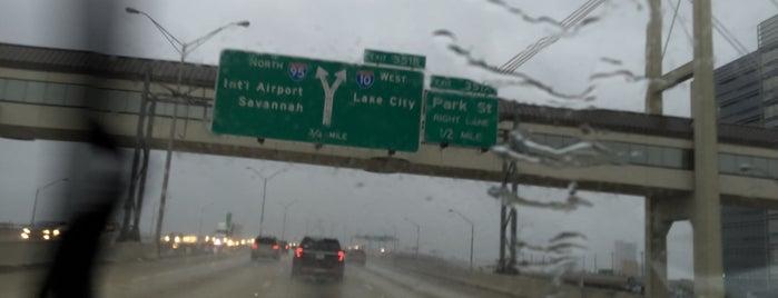 Interstate 95 is one of Highways & Byways - JAX.