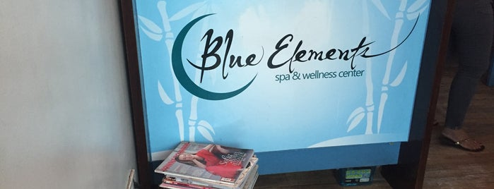 Blue Elements Spa & Wellness Center is one of Pampering...love love love.