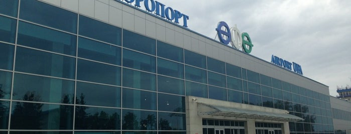 Ufa International Airport (UFA) is one of Free WiFi Airports 2.