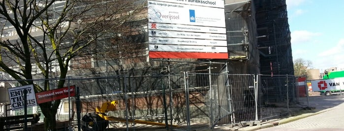 De Fabrieksschool is one of Architectuur Enschede #4sqCities.