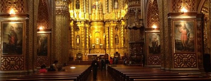 La Compañía de Jesus is one of Ecuador best spots.