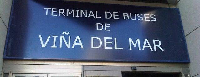 Terminal de Buses Viña del Mar is one of Viajes.