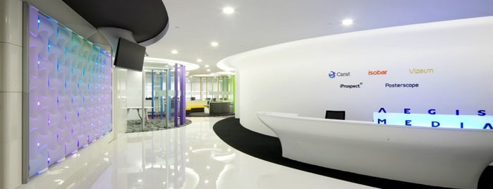 Dentsu Aegis Network Asia Pacific is one of OFFICE VOL.2.