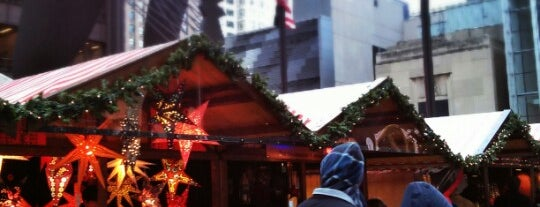 Christkindlmarket is one of Chicago.
